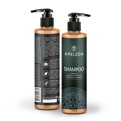 Шампунь для пошкодженого волосся AMELEDA