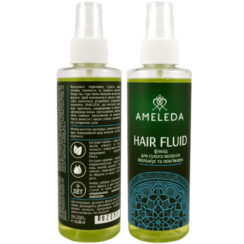 Флюид для сухих волос  AMELEDA